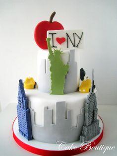 I love New York cake!!
