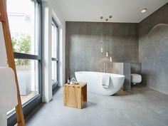 Penthouse: moderne Badezimmer von honey and spice Relaxing Bathroom, Tropical Bathroom, Cheap Bathroom Remodel, Cheap Bathrooms, Master Bathrooms, Master Bedroom, Contemporary Bathroom Designs, Modern Bathroom, Bathroom Ideas