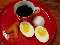 When facing challenges (boiling water) will you be like an egg, a carrot, or coffee? ;-)