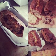 "4 To se mi líbí, 1 komentářů – Little woman (@littlewomaninkitchen) na Instagramu: ""When i receive a visit for the weekend😄breakfast bread - classic apple bread and banana bread with…"""