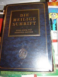 Hebrew - German Sinai Bilingual Old Testament Large / Die Heilige Schrift / Hebraisch - Deutsch / Edition Sinai ISRAEL What Is Bible, Hebrew Bible, All Languages, New Testament, Middle East, Israel, German, History, My Love