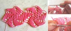 A lot of various flower cords are available out there in the crochet world. Some are definitely more beautiful than the others and the mill floral cord definite Crochet Box Stitch, Crochet Daisy, Crochet Rope, Crochet Flowers, Free Crochet, Hat Tutorial, Handbag Tutorial, Tutorial Crochet, Crochet World