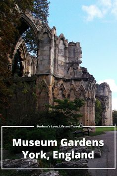 York Museum Botanical Gardens with Roman Appeal Photo Journal. 20 Photo's including St. Mary's Abby, Roman sarcophagus's and more!