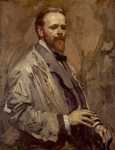 George W. Lambert (self-portrait) (1873-1930) Australian