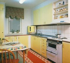Photos Of Old Kitchens From 1860 To 1970