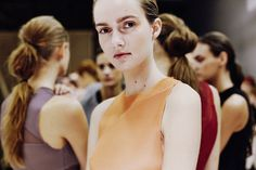 Behind the scenes at Barbara Casasola at London Fashion Week