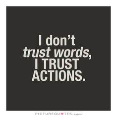 Trust Quote. Picture Quotes.
