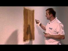 simple mahogany, Wood graining technique - YouTube