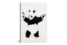 Save 42% on Banksy Art from iCanvas – UrbanDaddy Perks