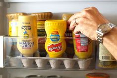 Fridge hacks to double your small refrigerator's storage space and boost organization.