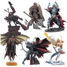 action toys | Series 31 Action Figures Set - McFarlane Toys - Spawn - Action Figures ...