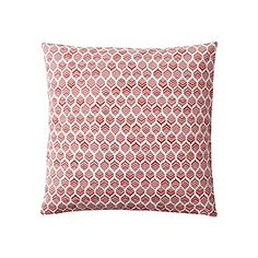 Sofa: Option 3 Leaf Pillow Cover – Coral, qty 2