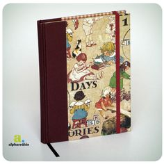 *Vintage! R$65.00 + envio* Notebooks that my good friend makes, they are beautiful!