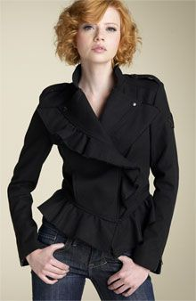 How to Choose Flattering Texture in Fabrics | Someone with curly hair will look best in textured garments like boucle or a velvet devore, which has a curved appearance.