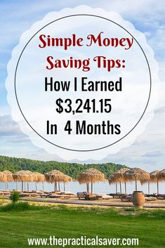 """This """" Money Saving Strategies : How I Earned $3,241.15 In 4 Months"""" post describes what my wife and I adopted to make additional income (apart from my day-job income). This post contains affiliate links. Since I published my very first income report last week, a ton of people have emailed me asking for tips and tricks on just about anything and everything that generate income. It's feels good that a lot of people are starting to find value in what I do with blogging. As much as..."""