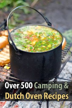 If you like to cook in the great outdoors, I have the ultimate resource for you: A FREE recipe book with over 500 recipes you can make over a campfire.