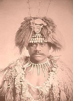 Samoa chief, 1894