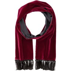 Dolce & Gabbana GQ209EFUWBN (Burgundy) Scarves (1.745 RON) ❤ liked on Polyvore featuring men's fashion, men's accessories, men's scarves and burgundy