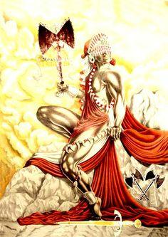 Xangô African American Art, African Art, Voodoo, Shango Orisha, Yoruba Orishas, Tarot, African Mythology, Yoruba People, Yoruba Religion