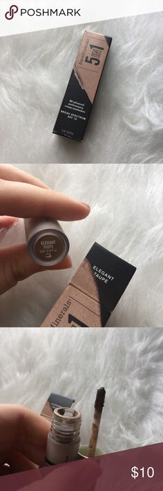BareMinerals bb cream eyeshadow This has been swatched a couple of times. The shade is in elegant taupe.  Just looking to sell right now, so no trades. 🚫 I don't use any other sites to sell makeup. 🚫 I aim to ship same day. 📩 I always take the shipping price into consideration, please take the sellers fee into yours! 💸 Use the offer button, I might accept! I won't discuss prices in the comments & low ball offers will be ignored. 🗣 If you have any questions, please ask! 🙂 bareMinerals…