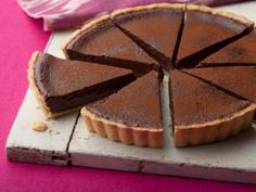 Chocolate Tart Recipe | Tyler Florence | Food Network