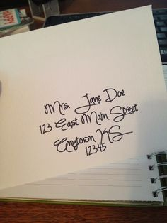 Tutorial: Using a Silhouette Cameo with a Sharpie pen to address cards