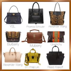 """Bags for Fall 2012"" by ashlips33 on Polyvore"