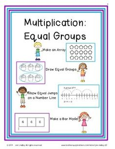 Multiplication, Circles and Group on PinterestMultiplication: Adding Equal Groups