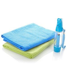 MistyMate® Mini Mister, 2 Cool Towels Cooling Kit  من الدانوب