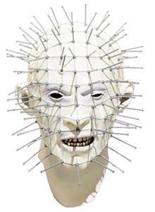 Hellraiser Pinhead Adult Mask #Halloween #halloweencostume #mask #hellraiser #pinhead #horror