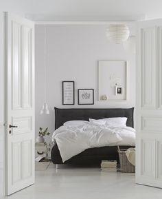 schwarzes Bett / black bed #impressionen #schlafzimmer … | Pinteres…
