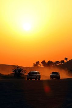 Evening Desert Safari Dubai : Scenic Desert