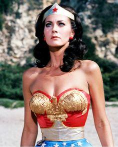 Lynda Carter as Wonder Woman 1970's