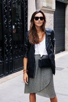 40 Ungewöhnliche Jacke mit Rock Outfits Sie sollten dieses Jahr versuchen