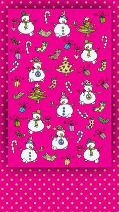 Christmas & Pink (Wallpapers) | ❣ iCandy ❣
