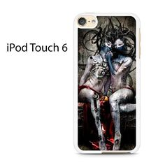 Creepy Heavy Metal Art Ipod Touch 6 Case