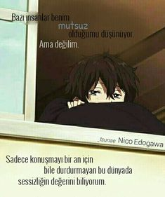 anime and hyouka kép. People can& . - anime and hyouka kép. People can& … - Sad Anime Quotes, Manga Quotes, True Quotes, Best Quotes, Loner Quotes, Hyouka, Anime Life, Inspirational Quotes, Sayings