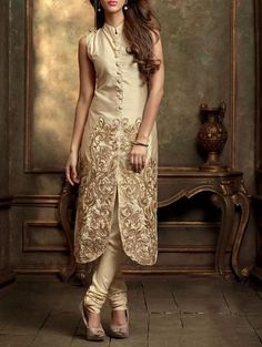 this gorgeous semi stitched beige suit set makes an exquiste display of graceful aesthetics. -https://www.cooliyo.com/product/97211/beige-georgette-embroidered-semi-stitched-suit-set/