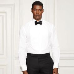 Aston Bib Front Tuxedo Shirt - Purple Label Best Sellers - RalphLauren.com