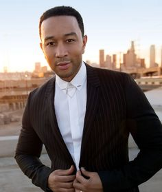 #Grooming Debbie Gallagher: L.A Confidential / #JohnLegend - #Photography by Frederic Auerbach