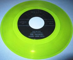 1964 DooWop 45 Rpm The Velours ROMEO /WHAT YOU DO TO ME On Relic 502 YELLOW WAX... The Velours were originally from the Bedford-Stuyvesant section of Brooklyn and although they never scored any major chart hits, they are fondly remembered for their variety of vocal group romantic ballads, novelty numbers, and up-tempo jump and rockin' songs.