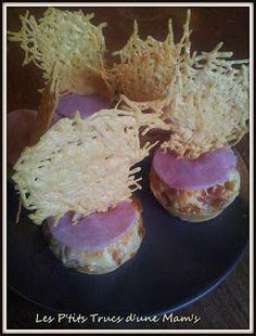 Les P'tits Trucs d'une Mam's: Cupcakes jambon-fromage