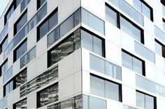 Delugan Meissl architects. Residence in Vienna. EQUITONE facade panels. equitone.com