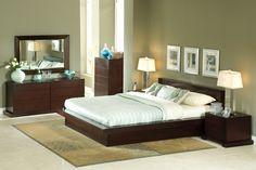 Bedroom Furniture Sets - Zurich Cappuccino Bedroom Suite
