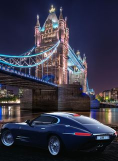Beautiful bridge... stunning car! Saw this amazing image shown by Tao Z Travel London and had to add the incredible Lyonheart K! #Towerbridge #London #GB #TravelLondon #TaoZart #LyonheartK lyonheart.com