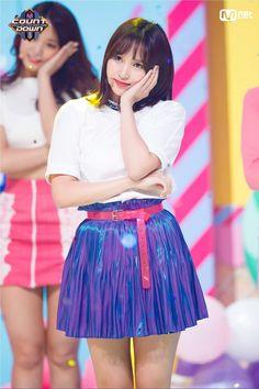 Twice-Mina 180412 Mnet MCountdown