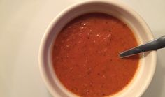 Winter Tomato Soup with Thyme