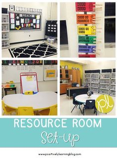Resource Room Set-Up - check out how I'm creating a comfortable learning environment for my students! #resourceroom #specialeducation #classroom
