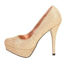 "NWT Glitter Pumps New, never worn 5"" heel, approximately 1.25"" platform. Original box. Sizzle by Coloriffics Shoes Heels"
