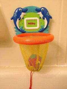 Nuby Fish Swoosh™ Bath time Play Set
